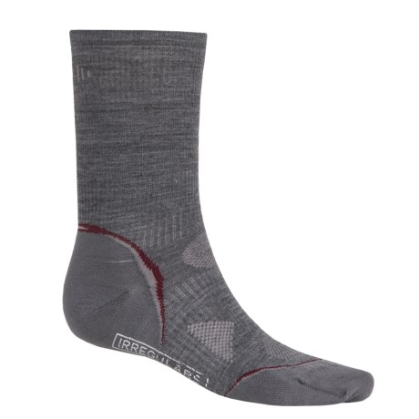 SmartWool 2013 PhD Ultralight Outdoor Socks - Merino Wool, Crew (For Men and Women) in Medium Grey
