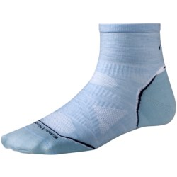 SmartWool 2013 PhD Ultralight Run Socks - Merino Wool, Quarter-Crew (For Women) in Spearmint