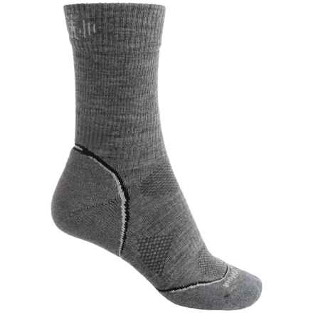 SmartWool 2013 PhD V2 Outdoor Light Socks - Merino Wool, Crew (For Men and Women) in Medium Gray - Closeouts