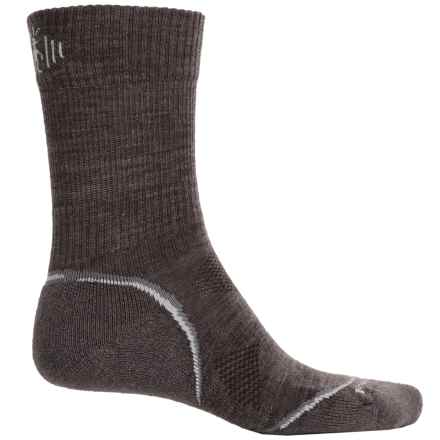 SmartWool 2013 PhD V2 Outdoor Light Socks - Merino Wool, Crew (For Men and Women) in Taupe - Closeouts