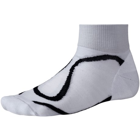 SmartWool 2013 Run Light Mini Socks - Merino Wool, Quarter-Crew, Lightweight (For Women) in Black