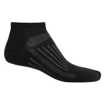 SmartWool 2013 Walk Light Micro Socks - Merino Wool (For Men and Women) in Black - 2nds