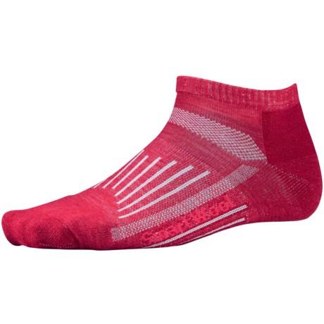 SmartWool 2013 Walk Light Micro Socks - Merino Wool (For Women) in Persian Red