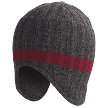 SmartWool Adventurer Beanie Hat - Merino Wool (For Men) in Char Marl - Closeouts