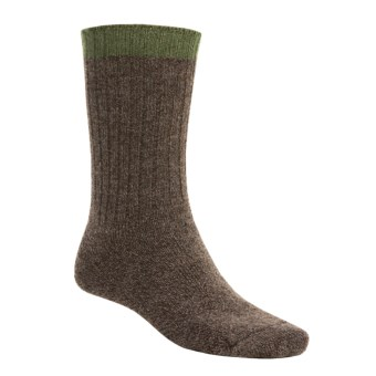 SmartWool Adventurer Socks - Merino Wool. Midweight (For Men) in Chestnut Marl