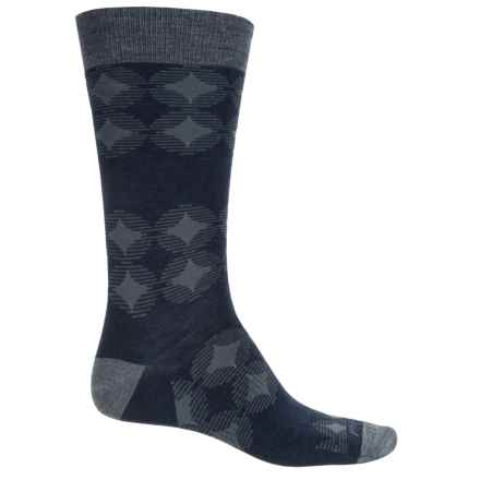 SmartWool Agano Socks - Merino Wool, Crew (For Men) in Deep Navy Heather - Closeouts
