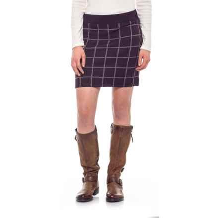 SmartWool Akamina Reversible Skirt - Merino Wool (For Women) in Bordeaux Heather - Closeouts