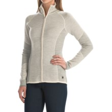 SmartWool Alamosa Sweater - Merino Wool, Zip Front (For Women) in Natural Heather - Closeouts