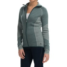 SmartWool Alamosa Sweater - Merino Wool, Zip Front (For Women) in Sea Pine Heather - Closeouts