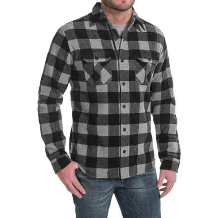 SmartWool Anchor Line Shirt Jacket - Merino Wool (For Men) in Medium Gray Heather - Closeouts