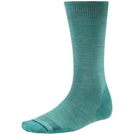 SmartWool Anchor Line Socks - Merino Wool, Crew (For Men) in Canton Heather - Closeouts