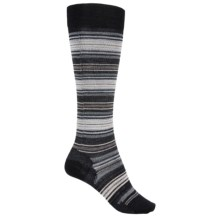 SmartWool Arabica II Socks - Merino Wool, Over the Calf (For Women) in Black - 2nds