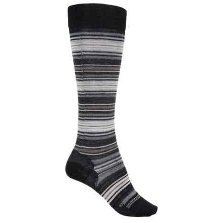 SmartWool Arabica II Socks - Merino Wool, Over the Calf (For Women) in Black - 2nds