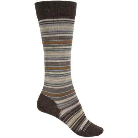 SmartWool Arabica II Socks - Merino Wool, Over the Calf (For Women) in Caramel Heather - 2nds