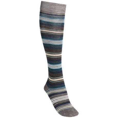 SmartWool Arabica II Socks - Merino Wool, Over-the-Calf (For Women) in Chestnut Heather