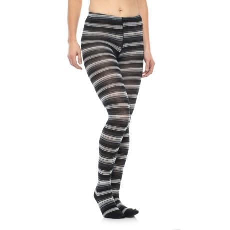 SmartWool Arabica Tights - Merino Wool (For Women) in Black