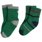 SmartWool Baby Sock Sampler - Merino Wool, 2-Pack (For Infants and Toddlers)