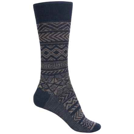 SmartWool Backcountry Cabin Socks - Crew (For Men) in Taupe - Closeouts