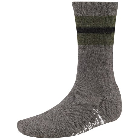 SmartWool Barn Socks - Merino Wool (For Men) in Taupe Heather