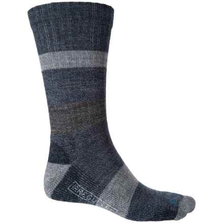SmartWool Barnsley Socks - Merino Wool, Crew (For Men) in Deep Navy Heather - 2nds