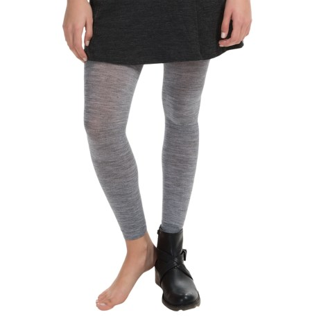 SmartWool Basic Footless Tights II Merino Wool Blend (For Women)
