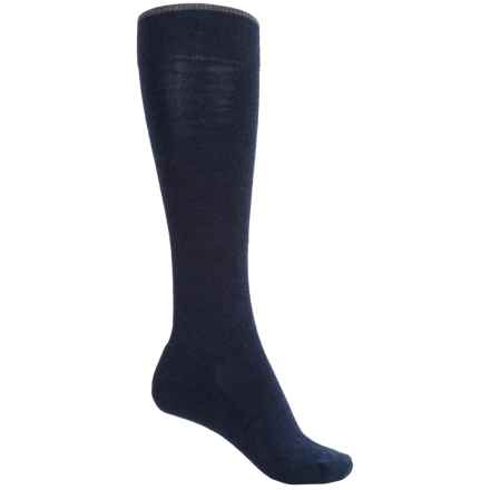 SmartWool Basic Knee-High Socks - Merino Wool (For Women) in Deep Navy Heather - 2nds