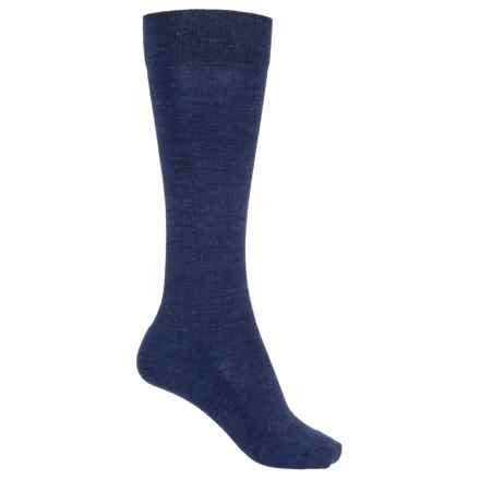 SmartWool Basic Knee-High Socks - Merino Wool (For Women) in Ink Heather - 2nds