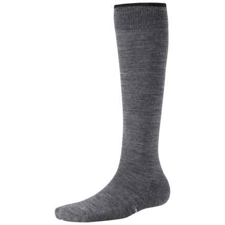 SmartWool Basic Knee-High Socks - Merino Wool (For Women) in Medium Grey Heather - 2nds
