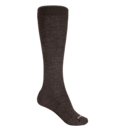 SmartWool Basic Knee-High Socks - Merino Wool, Over the Calf (For Women) in Chestnut - Closeouts