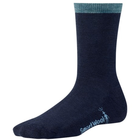 SmartWool Best Friend Socks - Crew (For Women) in Deep Navy Heather