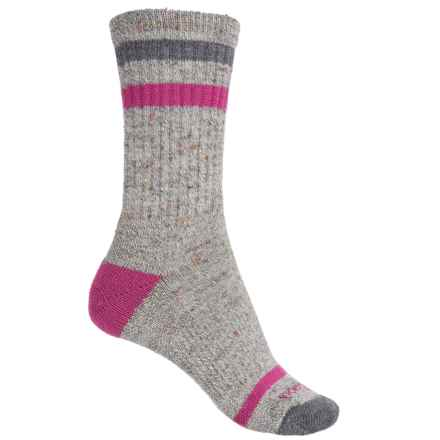 SmartWool Birkie Socks - Merino Wool, Crew (For Women) in Medium Gray Heather - Closeouts