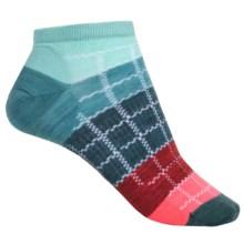 SmartWool Block by Block Ankle Socks - Merino Wool (For Women) in Mint - Closeouts