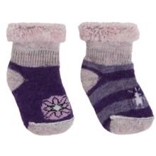 SmartWool Bootie Batch Socks - 2-Pack, Merino Wool (For Infants) in Grape Combo - Closeouts
