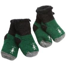 SmartWool Bootie Batch Socks - 2-Pack, Merino Wool (For Infants) in Green - 2nds
