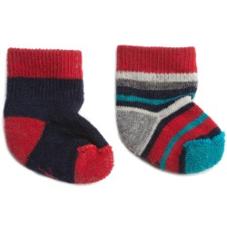 SmartWool Bootie Batch Socks - Merino Wool (For Infants) in Deep Navy Heather