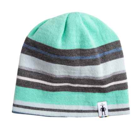 SmartWool Bootie Hat - Merino Wool (For Kids) in Mint - Overstock