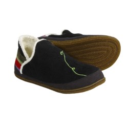 SmartWool Bootie Slippers - Merino Wool (For Women) in Black