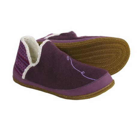 SmartWool Bootie Slippers - Merino Wool (For Women) in Deep Purple