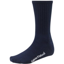 SmartWool Brilliant Hike Light Socks - Merino Wool, Lightweight, Crew (For Men and Women) in Navy - 2nds
