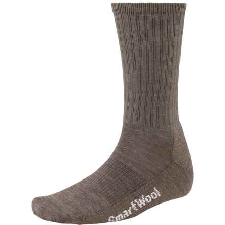 SmartWool Brilliant Hike Light Socks - Merino Wool, Lightweight, Crew (For Men and Women) in Taupe - 2nds