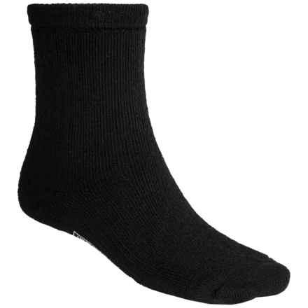 SmartWool Brilliant Hike Socks - Merino Wool, Crew (For Men and Women) in Black - 2nds
