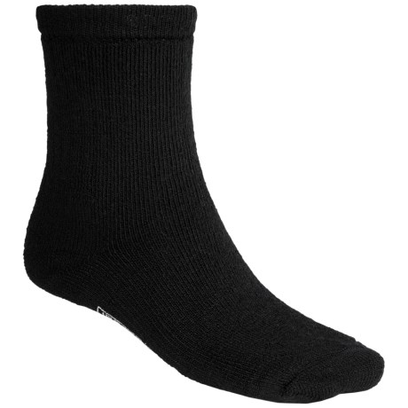 SmartWool Brilliant Hike Socks - Merino Wool, Crew (For Men and Women) in Black
