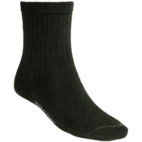 SmartWool Brilliant Hike Socks - Merino Wool, Crew (For Men and Women) in Forest