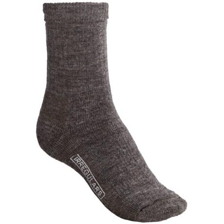 SmartWool Brilliant Hike Socks - Merino Wool, Crew (For Women) in Taupe