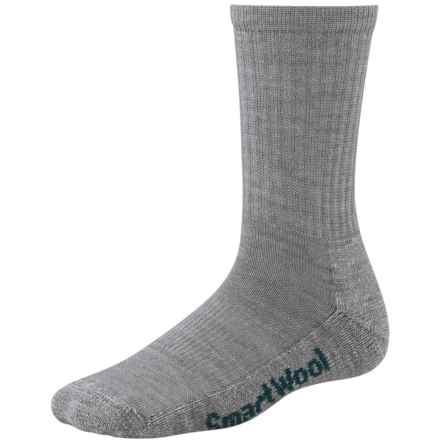 SmartWool Brilliant Hike Socks - Merino Wool, Lightweight (For Women) in Light Gray - 2nds