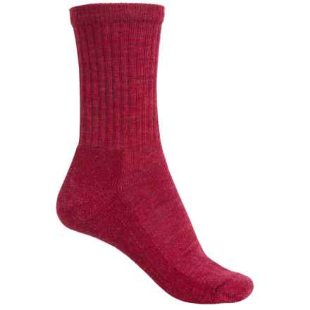 SmartWool Brilliant Hike Socks - Merino Wool, Lightweight (For Women) in Persian Red - 2nds