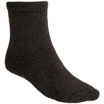 SmartWool Brilliant Hike Socks - Merino Wool, Midweight, Crew (For Men and Women) in Chestnut - 2nds