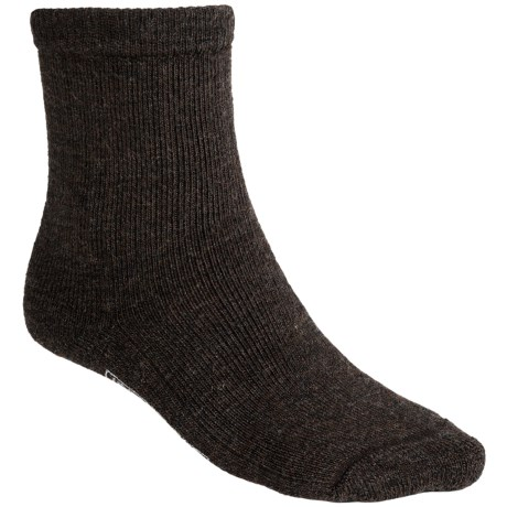 SmartWool Brilliant Hike Socks - Merino Wool, Midweight, Crew (For Men and Women) in Chestnut