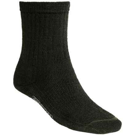 SmartWool Brilliant Hike Socks - Merino Wool, Midweight, Crew (For Men and Women) in Forest - 2nds
