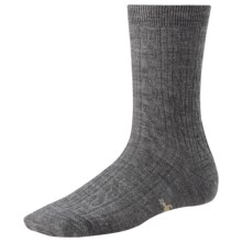 SmartWool Cable II Socks - Merino Wool, Crew (For Women) in Grey Heather - 2nds